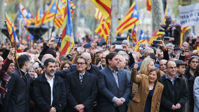 Los juicios políticos contra los independentistas no intimidan a los que defienden el proceso